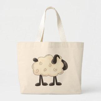 Angel Antics · Sheep Canvas Bags