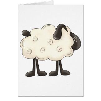 Angel Antics · Sheep Card