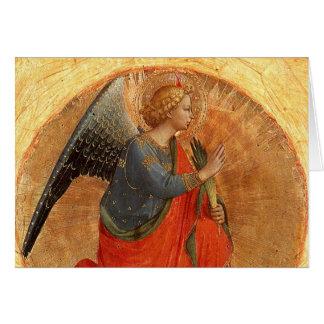 Angel at Annunciation Card