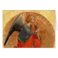 Angel at Annunciation Greeting Card