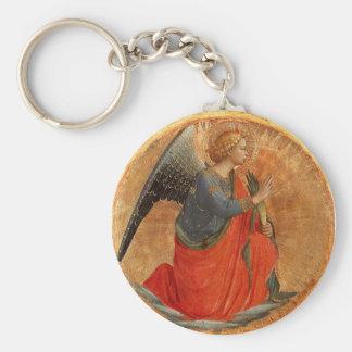 Angel at Annunciation Key Chains