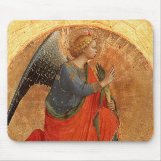 Angel at Annunciation Mousepad