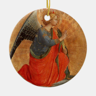 Angel at Annunciation Christmas Tree Ornament