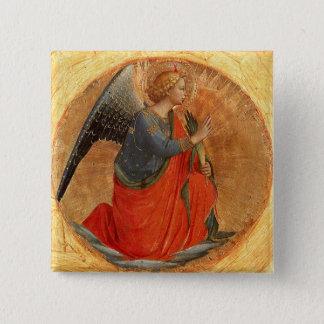 Angel at Annunciation Pinback Button