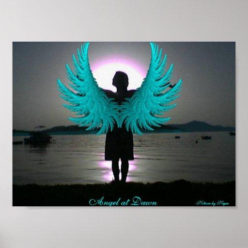 Angel at Dawn Poster
