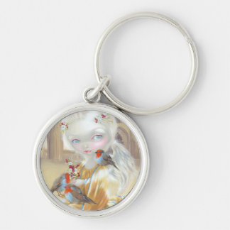 """Angel at Glastonbury Abbey"" Keychain"
