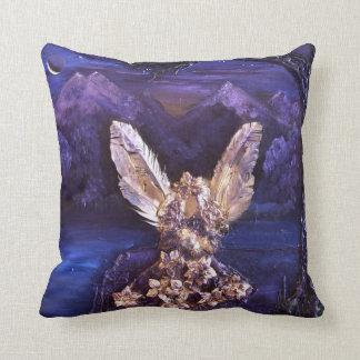 Angel At Sunrise Throw Pillow