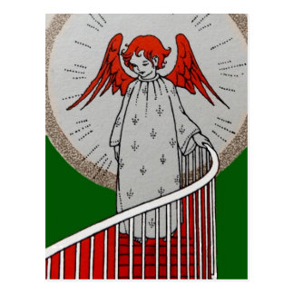 Angel at the Top of the Stairs Postcard