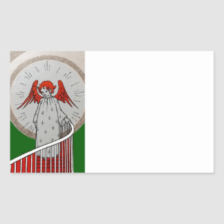 Angel at the Top of the Stairs Sticker