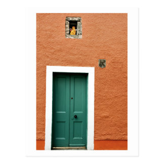 Angel at the Window, Culross, Scotland Postcard