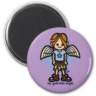 angel attraction. 2 inch round magnet