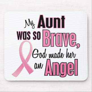 Angel AUNT Breast Cancer T-Shirts & Apparel Mouse Pad