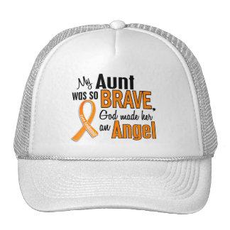 Angel Aunt Leukemia Trucker Hats