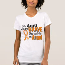Angel Aunt Leukemia T-Shirt