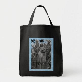 Ángel azul 18 bolsa tela para la compra