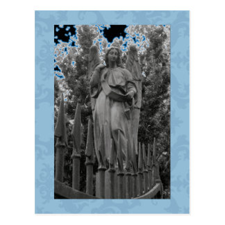 Ángel azul 18 tarjetas postales