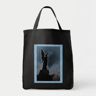 Ángel azul 4 bolsa tela para la compra