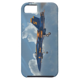 Ángel azul #5 iPhone 5 funda