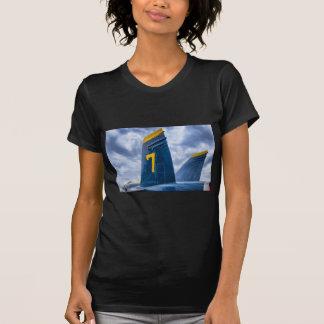 Ángel azul Luky #7 Camisetas