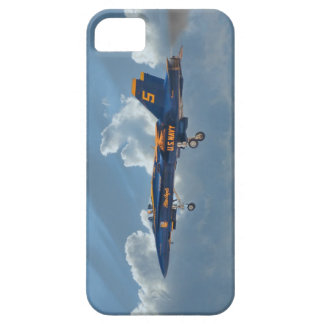Ángel azul Numer 5 Funda Para iPhone 5 Barely There