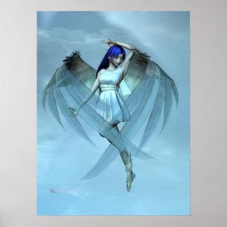 ángel azul posters