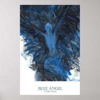 Ángel azul poster
