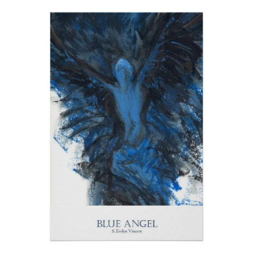 Ángel azul póster