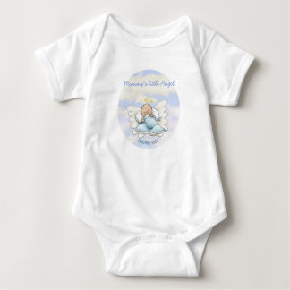 Angel baby boy baby bodysuit