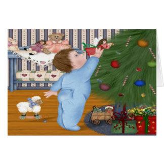 Angel Baby Christmas Card