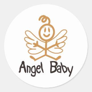 Baby Angel Stickers | Zazzle