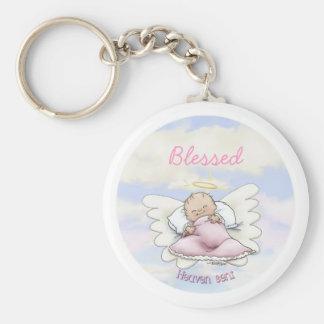 Angel Baby Girl - Heaven sent Keychain