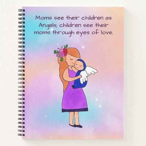 Angel Baby Notebook