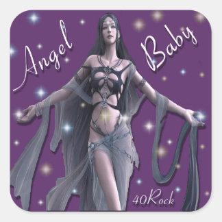 Angel Baby Sticker 2