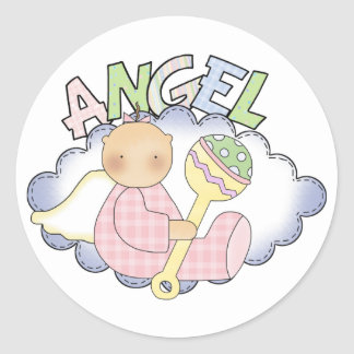 Angel Baby Stickers