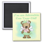 Angel Bear 1st Birthday Tshirts and Gifts Refrigerator Magnets