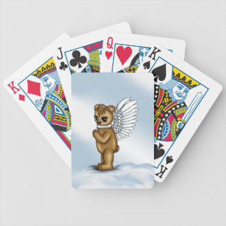Angel Bear Bicycle Playing Cards