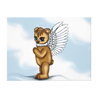 Angel Bear canvas
