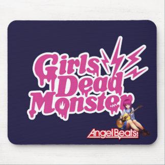 Angel Beats. Girls Dead Monster Mousepads