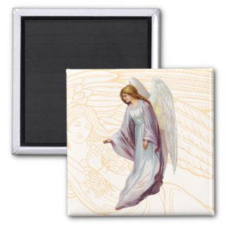 Angel Beautiful Messenger of God 2 Inch Square Magnet