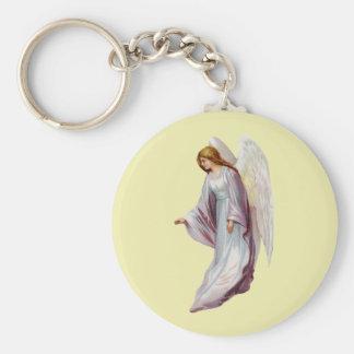 Angel Beautiful Messenger of God Basic Round Button Keychain