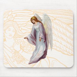 Angel Beautiful Messenger of God Mouse Pad