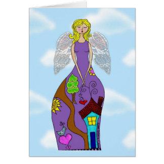 Angel Becky Greeting Card