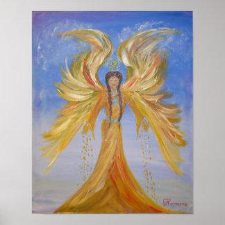 Ángel bendecido de los Seraphim Póster