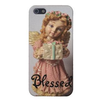 Ángel bendecido iPhone 5 carcasas
