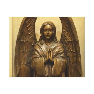 Ángel bendecido impresiones de lienzo