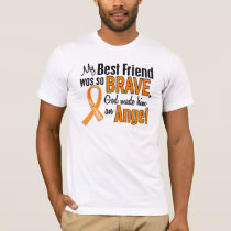 Angel Best Friend Leukemia T-Shirt