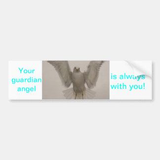 Angel Bird Car Bumper Sticker