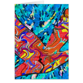 Angel Bird Greeting Card