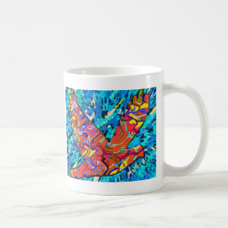 Angel Bird Coffee Mugs mug kitchen
