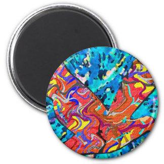 Angel Bird 2 Inch Round Magnet